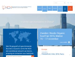 handelsbevordering.nl screenshot