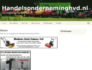 handelsonderneminghvd.nl screenshot