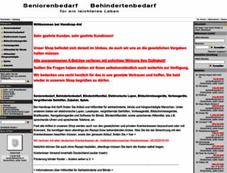handicap-aid.com screenshot