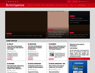 handicraftsinindia.in screenshot