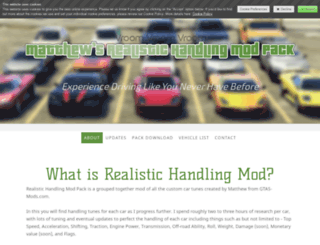 handlingmod.jimdo.com screenshot
