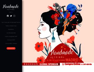 handmadefestivalbcn.com screenshot