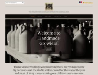 handmadegrowlers.com screenshot