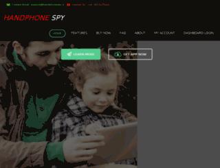 handphonespy.in screenshot