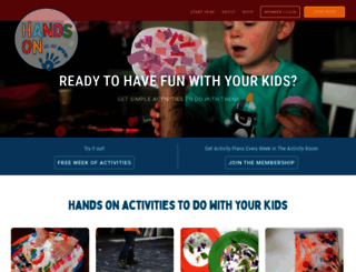 handsonaswegrow.com screenshot