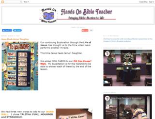 handsonbibleteacher.blogspot.com screenshot
