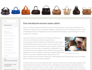 handtaschenstore.de screenshot