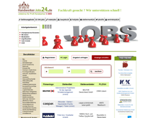 handwerker-jobs24.de screenshot