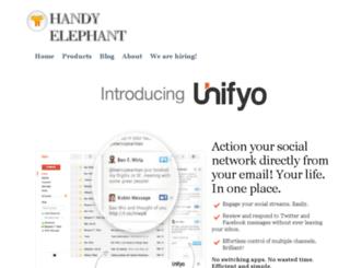 handyelephant.com screenshot
