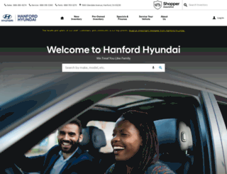 hanfordhyundai.com screenshot
