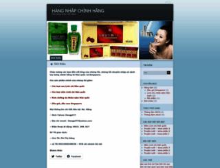 hanghieunhap.wordpress.com screenshot