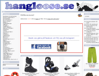 hangloose.se screenshot