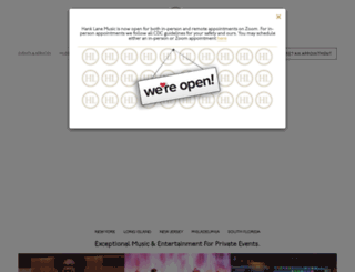 hanklane.com screenshot
