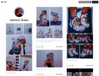hannakdraws.tumblr.com screenshot