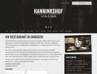 hanninkshof.nl screenshot
