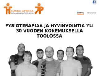 hannu-pekka.fi screenshot