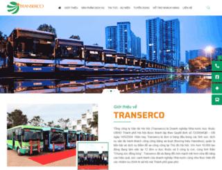 hanoibus.com.vn screenshot