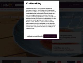 hanos.nl screenshot