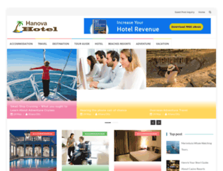 hanovahotel.com screenshot