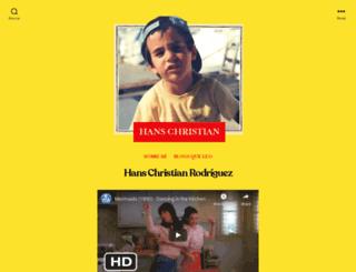 hanschristian.net screenshot