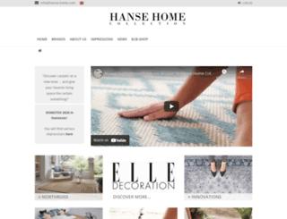 hanse-home.com screenshot