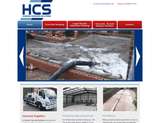 hansoncs.co.uk screenshot