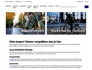 hansstruijkfietsen.nl screenshot