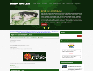 hanu-muslem.blogspot.com screenshot