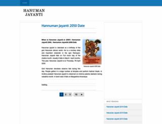 hanuman-jayanti.blogspot.in screenshot