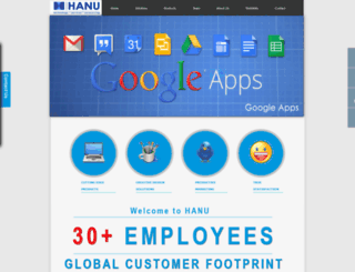hanuservices.com screenshot