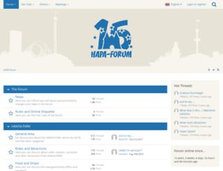 hapa-forum.de screenshot