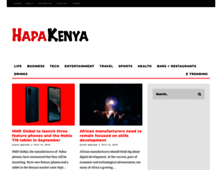 hapakenya.com screenshot