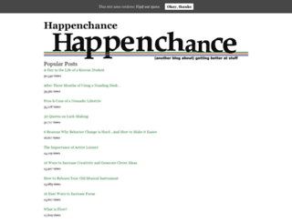 happenchance.net screenshot