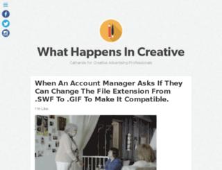 happensincreative.com screenshot