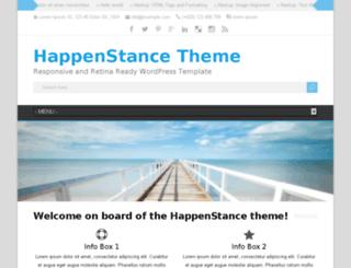 happenstance.tomastoman.com screenshot