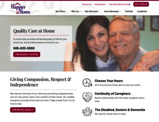 happierathome.com screenshot