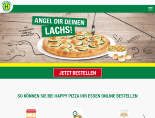 happy-pizza.de screenshot