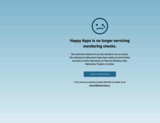 happyapps.io screenshot