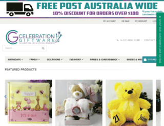 happybirthdaygifts.com.au screenshot