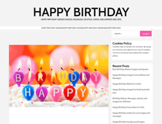 happybirthdaywishes-images.com screenshot