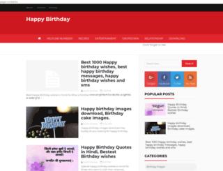 happybirthdayy.com screenshot