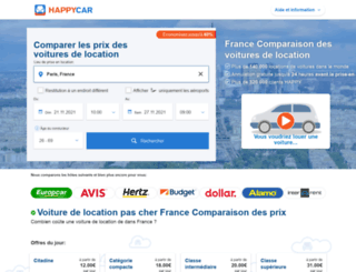 happycar.fr screenshot