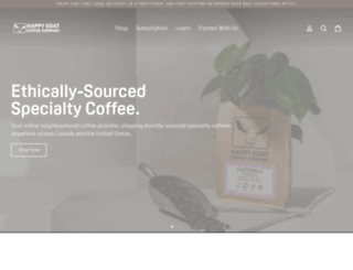 happygoat.ca screenshot