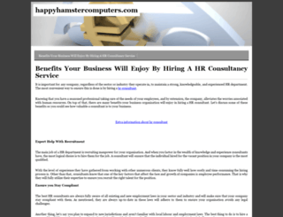 happyhamstercomputers.com screenshot