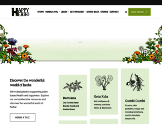 happyherbcompany.com screenshot