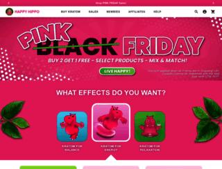 happyhippoherbals.com screenshot