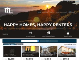 happyhomepartners.com screenshot