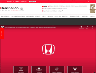happyhonda.com screenshot