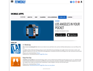 happyhours.laweekly.com screenshot