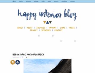 happyinteriorblog.com screenshot